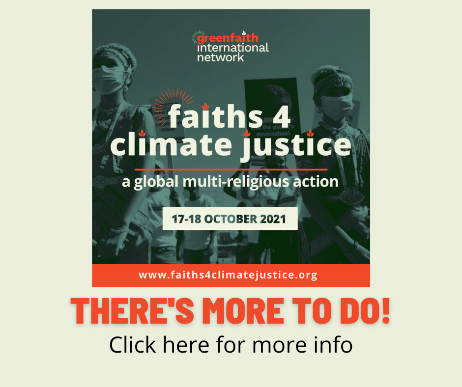Faiths 4 Climate Justice Follow Up